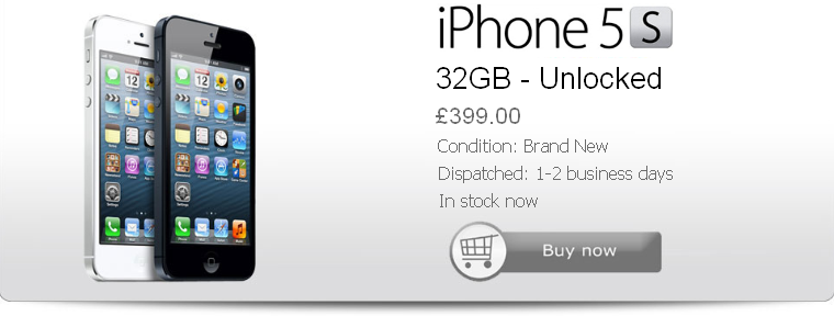 Buy Cheap iPhone 5S Unlocked New 32gb Black UK